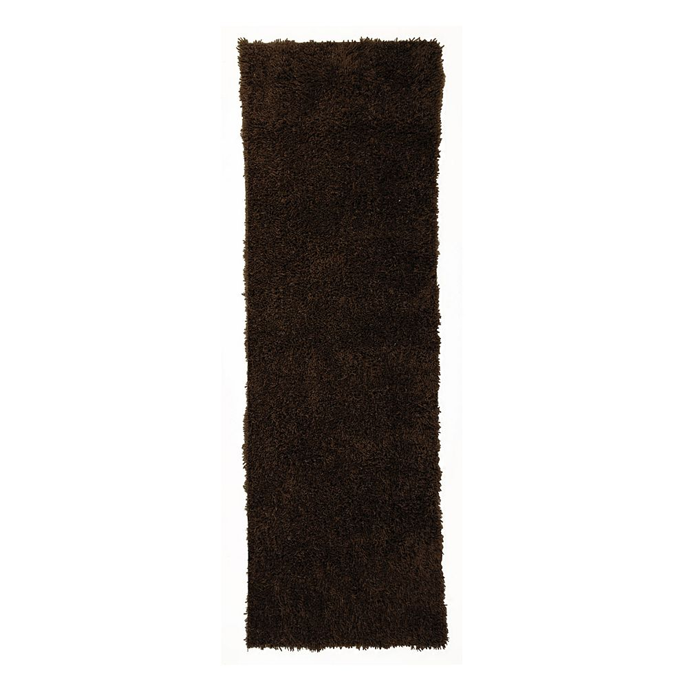 Lanart Rug Tapis de passage d'intérieur, 2 pi 6 po x 8 pi, à poils longs, gris Kashmir