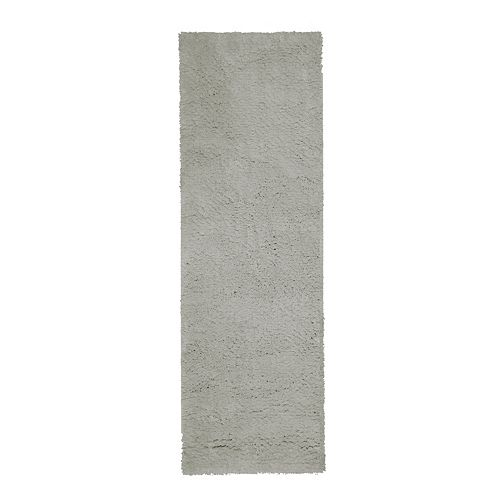 Lanart Rug Arctic Shag Grey 2 ft. 6-inch x 8 ft. Indoor Shag Runner