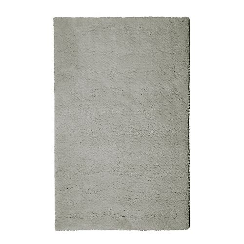 Lanart Rug Arctic Shag Grey 9 ft. x 12 ft. Indoor Shag Rectangular Area Rug