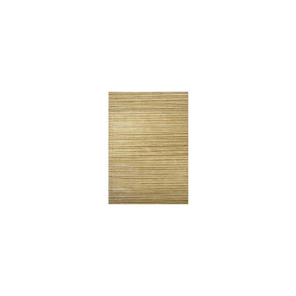 Lanart Rug Carpette, 5 pi x 8 pi, rectangulaire, havane Candy