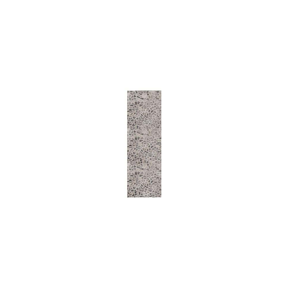 Lanart Rug Carpette, 8 pi x 11 pi, rectangulaire, gris Hide