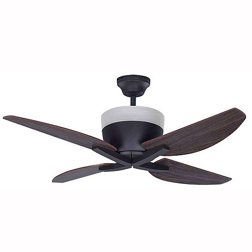 Summit 42-inch Ceiling Fan in Oil-Rubbed Bronze with Four 5W C Type Bulbs Included