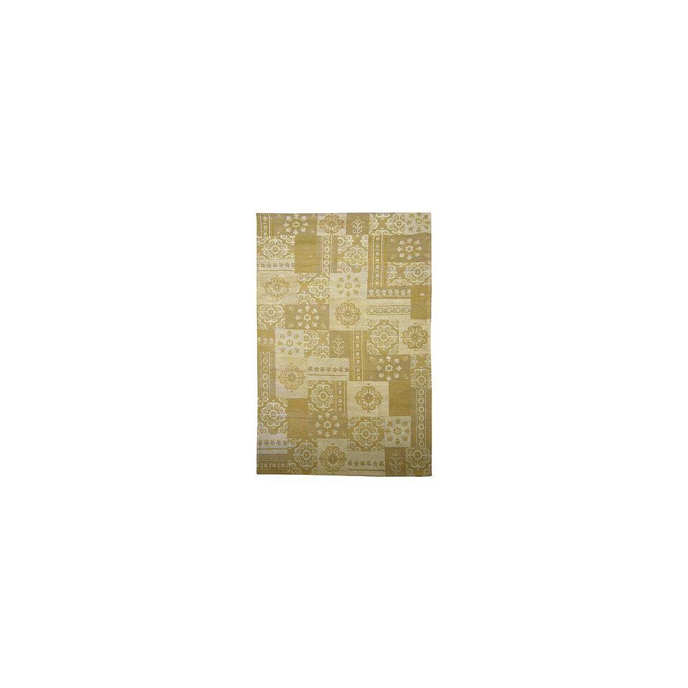 Lanart Rug Carpette, 4 pi x 6 pi, rectangulaire, havane Gypsy