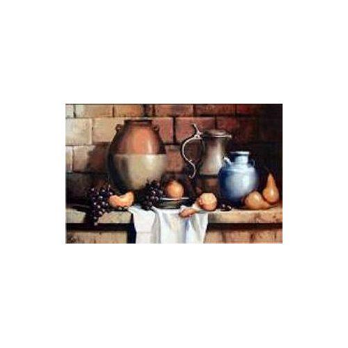 Paillasson d'intérieur/extérieur, 1 pi 6 po x 2 pi 6 po, rectangulaire, vases et fruits