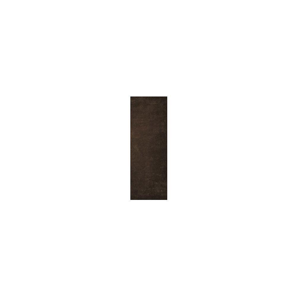 Lanart Rug Carpette, 8 pi x 11 pi, rectangulaire, brun Serenity