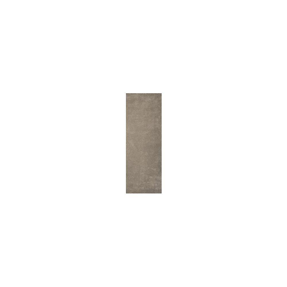 Lanart Rug Carpette, 8 pi x 11 pi, rectangulaire, gris Serenity