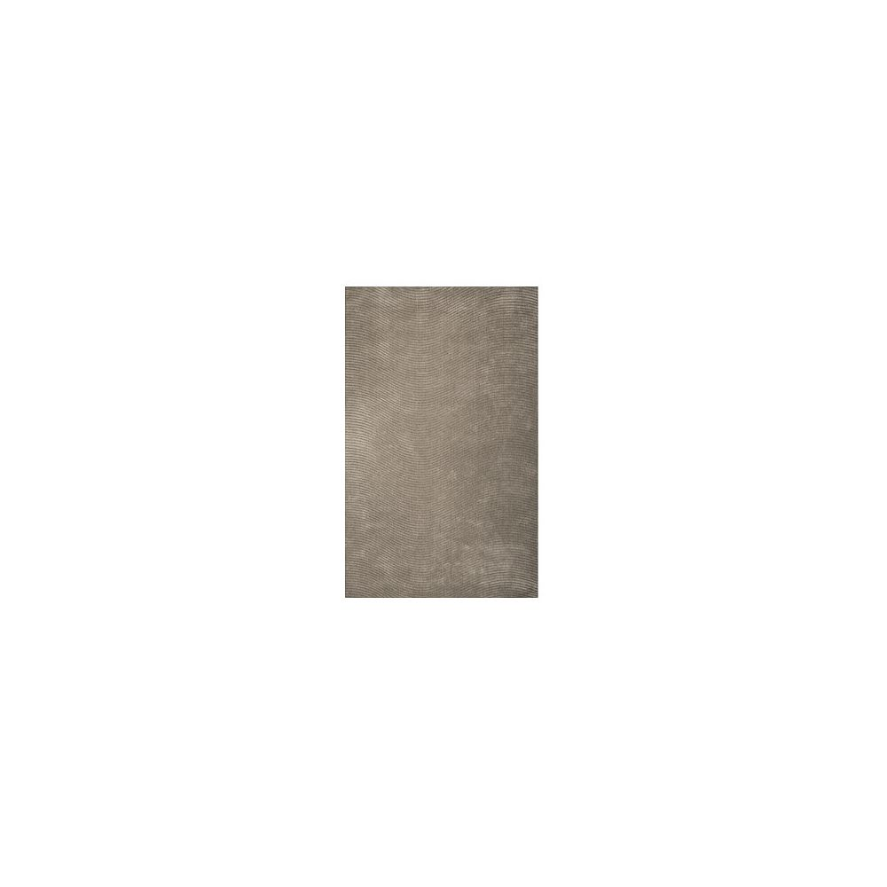 Lanart Rug Carpette, 9 pi x 12 pi, rectangulaire, gris Serenity