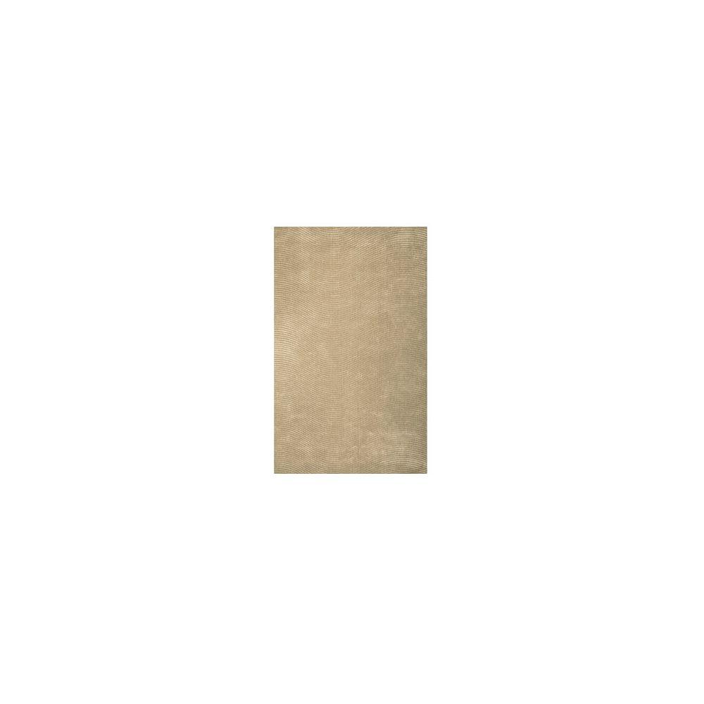 Lanart Rug Carpette, 9 pi x 12 pi, rectangulaire, havane Serenity
