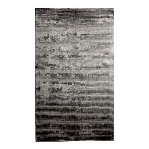 Lanart Rug Luminous Grey 9 ft. x 12 ft. Indoor Textured Rectangular Area Rug
