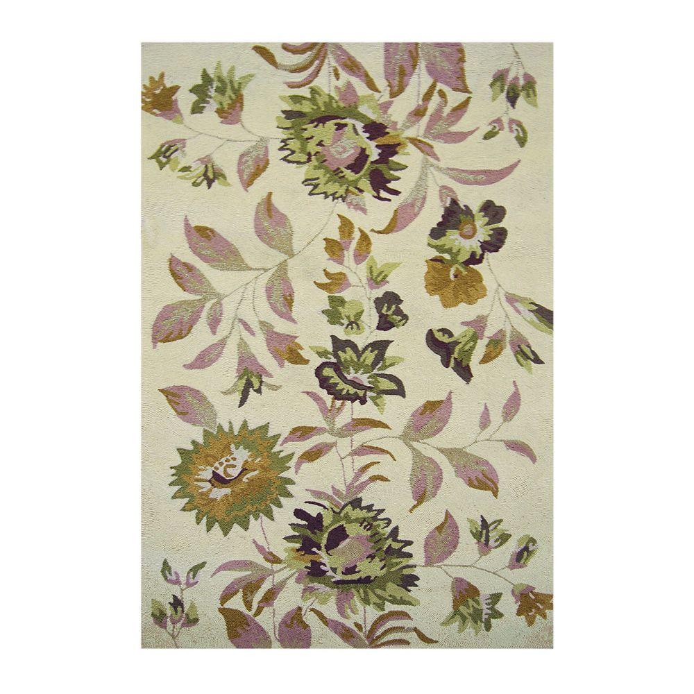 Lanart Rug Carpette d'intérieur, 9 pi x 12 pi, style transitionnel, rectangulaire, havane Martha's Vineyard