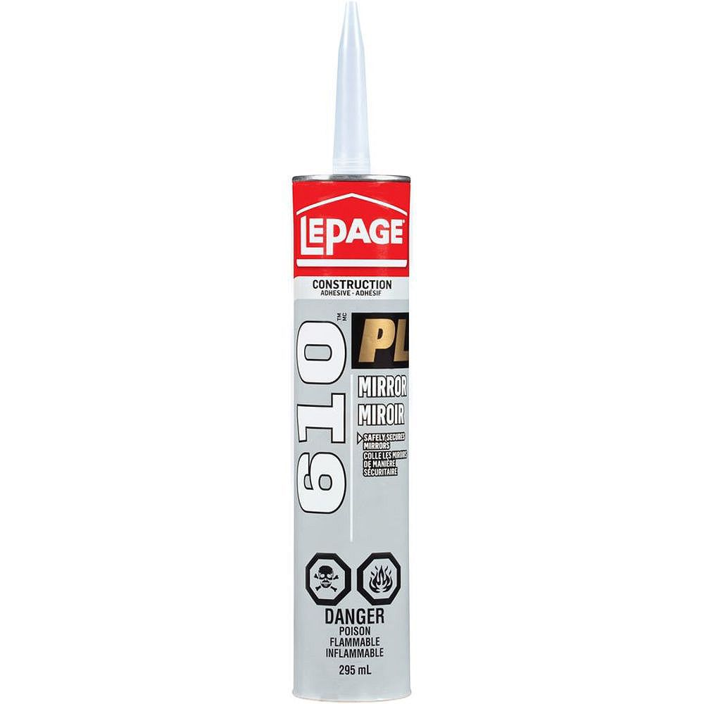 LePage PL 610 Mirror Construction Adhesive 295mL