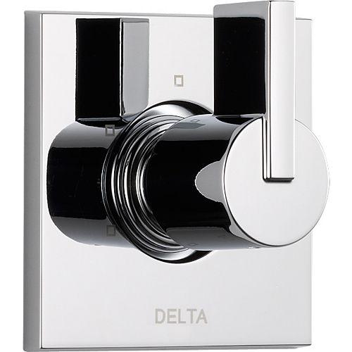 Delta Vero 1-Handle 3-Function Diverter/Volume Control Valve Trim Kit in Chrome (Valve Sold Separately)