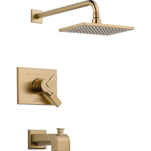 Vero 1-Spray Tub  Shower Faucet in Bronze (Valve Sold Separately)
