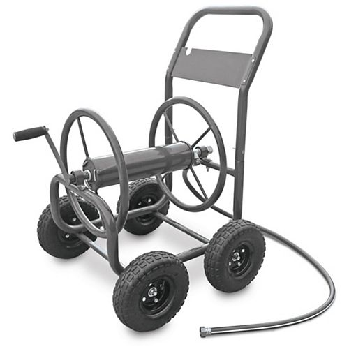 Hampton Bay Four Wheel Hose Cart