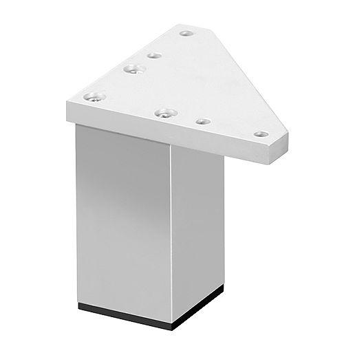 Pied de cube Zen empilable en nickel (paquet de 4)