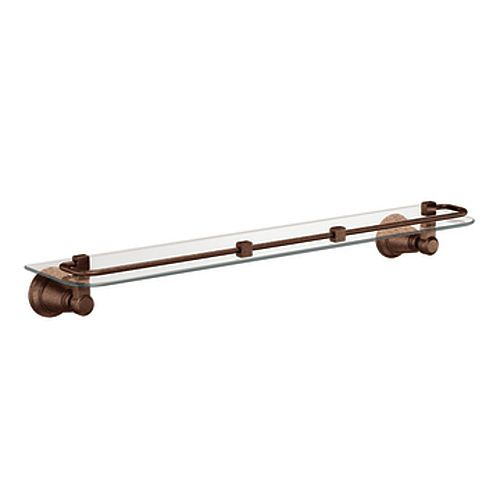 Rothbury Glass Shelf in Oil Rubbed Bronze