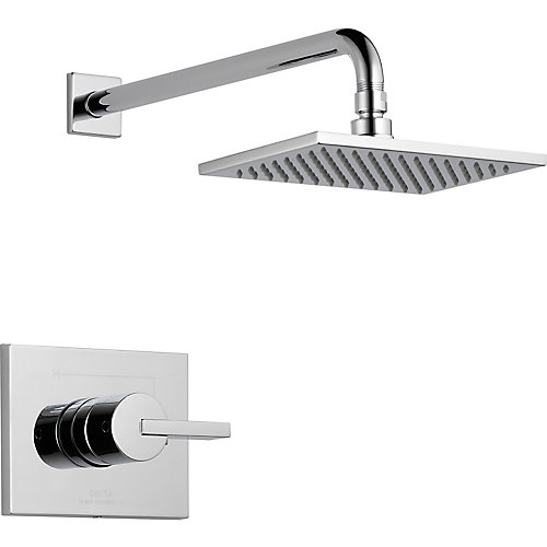 Vero 1-Spray Shower Faucet in Chrome (Valve Sold Separately)