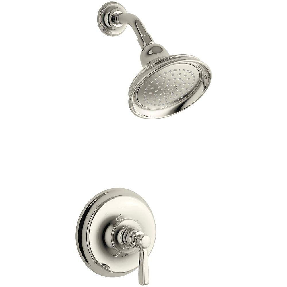 KOHLER Bancroft Shower Faucet with Showerhead and Metal Lever Handle