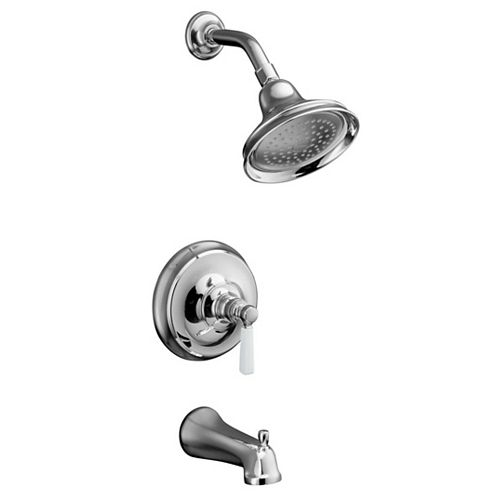KOHLER Bancroft Bath/Shower Faucet with Ceramic Handle