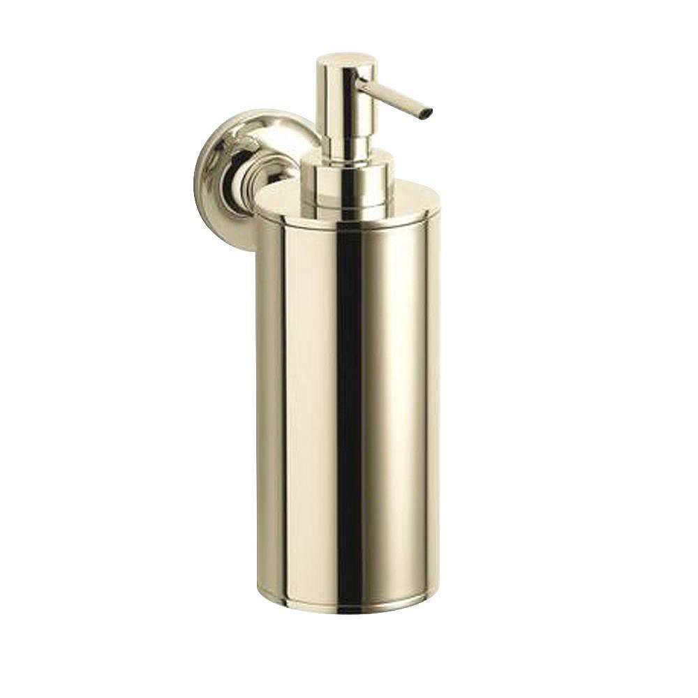 KOHLER Purist Wall-Mount Soap Dispenser