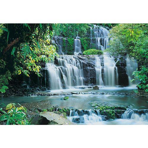 Purakaunui Falls Waterfall Mural