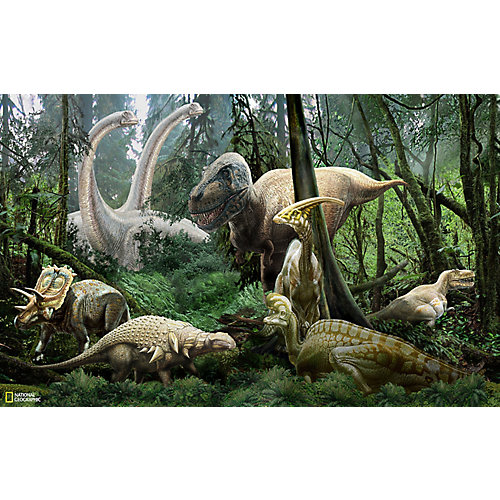 Murale Dinosaure