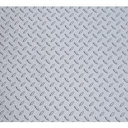 Diamond Deck 7.5 ft. x 22 ft. Vinyl Sheet in Metallic Silver
