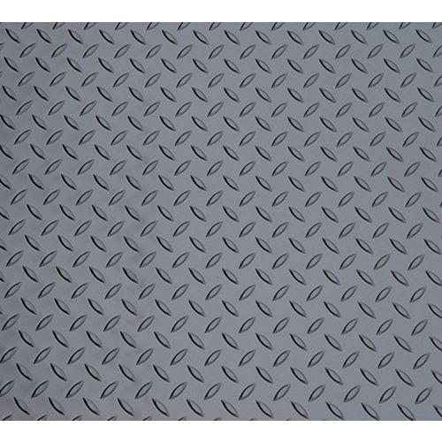 1,5 m x 30 m. Feuille de vinyle en graphite métallique