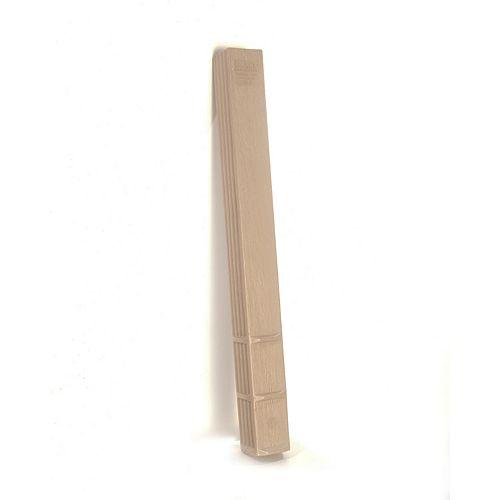 Post Protector Clôture composite de 4 po x 4 po x 3 1/2 po (72 pièces/palette)