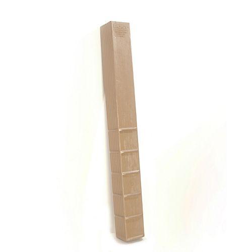 6-inch x 6-inch x 60-inch  (Case of 6-Piece)