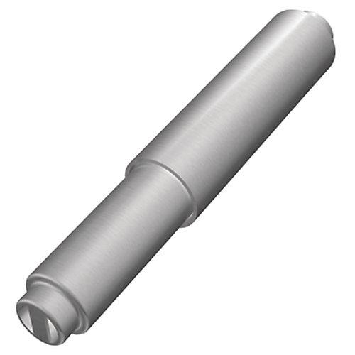 Mason Double Post Toilet Paper Holder Roller in Brushed Chrome
