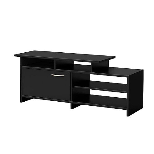 Step One 51.5-inch x 20-inch x 15.5-inch TV Stand in Black