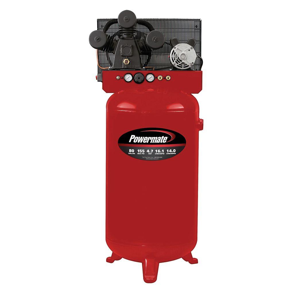 Powermate 80-Gallon Electric Air Compressor