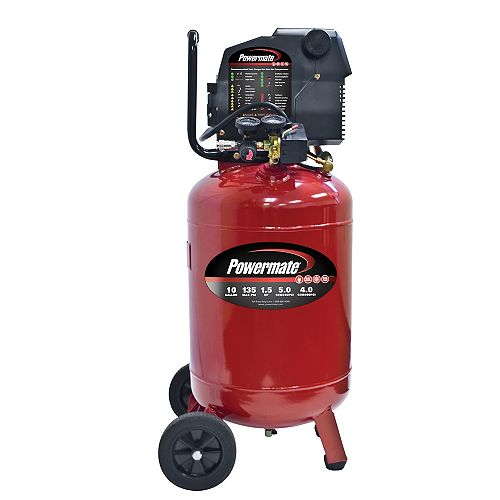 10 Gallon Electric Air Compressor with Extra Value Kit