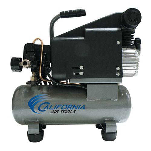 116DLH 1.0 HP  1.6 Gal Oil-Lubricated Steel Tank Air Compressor