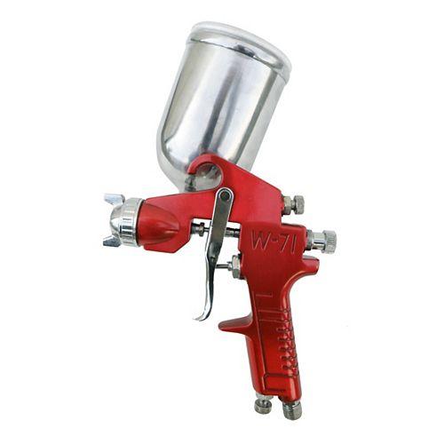 California Air Tools SPRAYIT SP-352 Pistolet pulvérisant à alimentation par gravité avec coupe pivotante en aluminium
