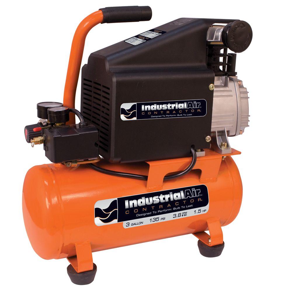Industrial Air Compresseur dair sur réservoir et lubrifié à lhuile  11,3 litres