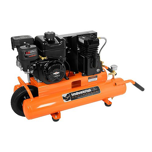 8 Gallon 155-PSI Portable Gas-Powered Air Compressor