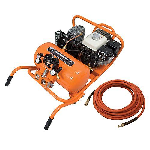 10 Gallon Air Compressor with Hose