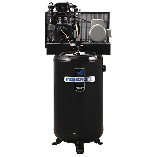 5.2 RHP, 80 Gallon Two-Stage, Single Phase Compressor