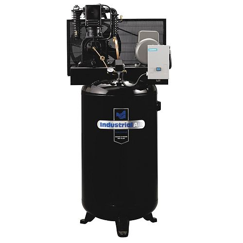 5.2 RHP, 80 Gallon Two-Stage, Single Phase Compressor with Magnetic Starter