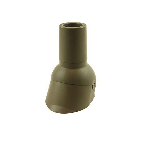 Perma-Boot 3 inch Brown vent pipe flashing repair