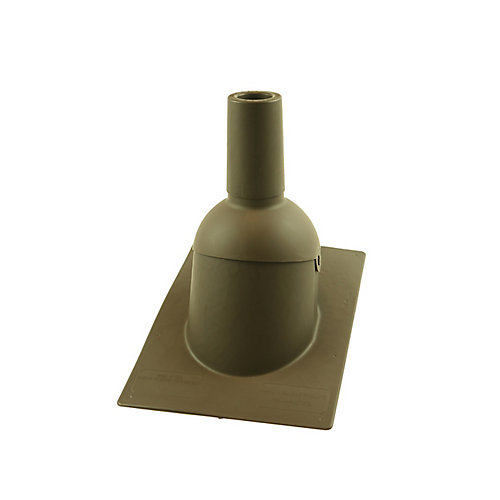 2 inch Brown new roof/re-roof vent pipe flashing