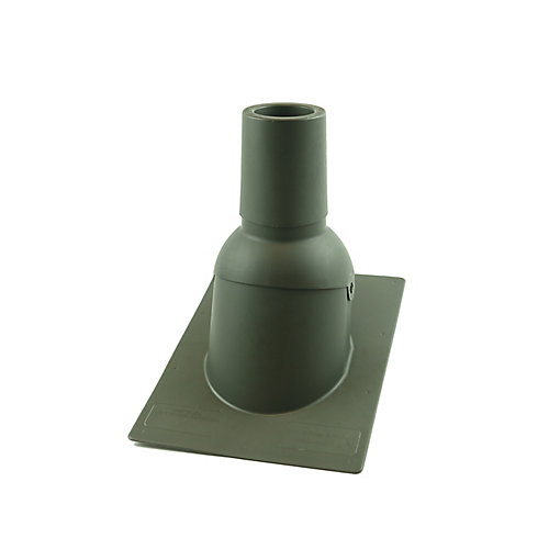 3 inch Weatherwood new roof/re-roof vent pipe flashing