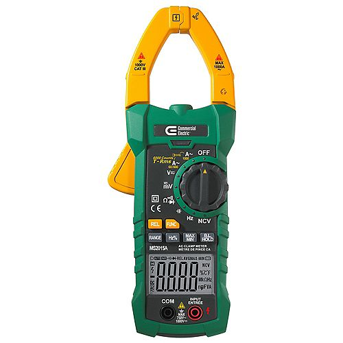 Commercial Electric Digital Clamp Meter