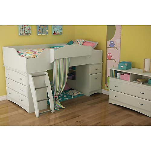 Imagine TV Stand/Storage Unit Pure White