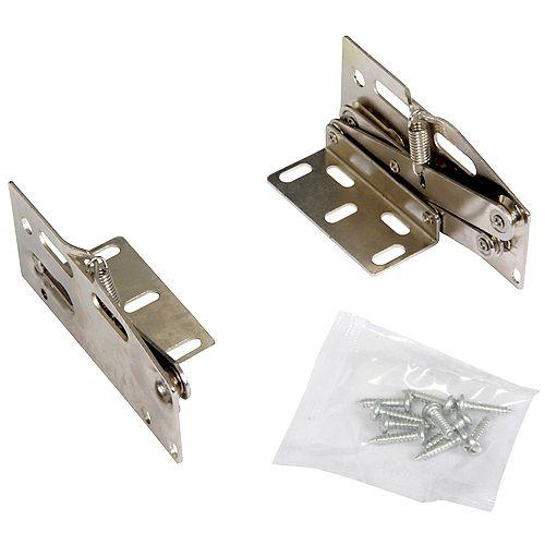 Knape & Vogt Scissor Hinges For Sink Front Tray Hinges - (40-Pack)