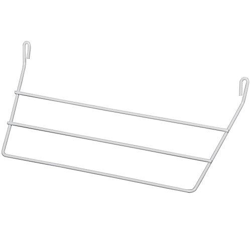 Porte-serviette pour porte blanc, emballage de 10