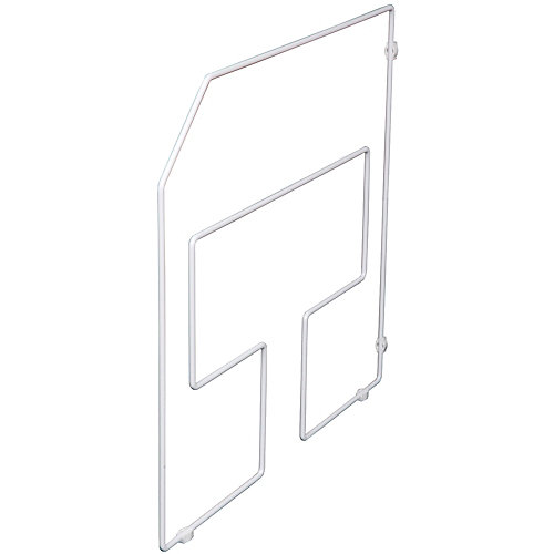 White Tray Divider - 18 Inches Tall