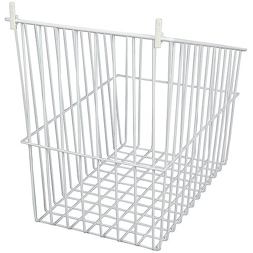 Knape & Vogt Tip-Out Wire Hamper - 10.5 Inches Wide (8-Pack)